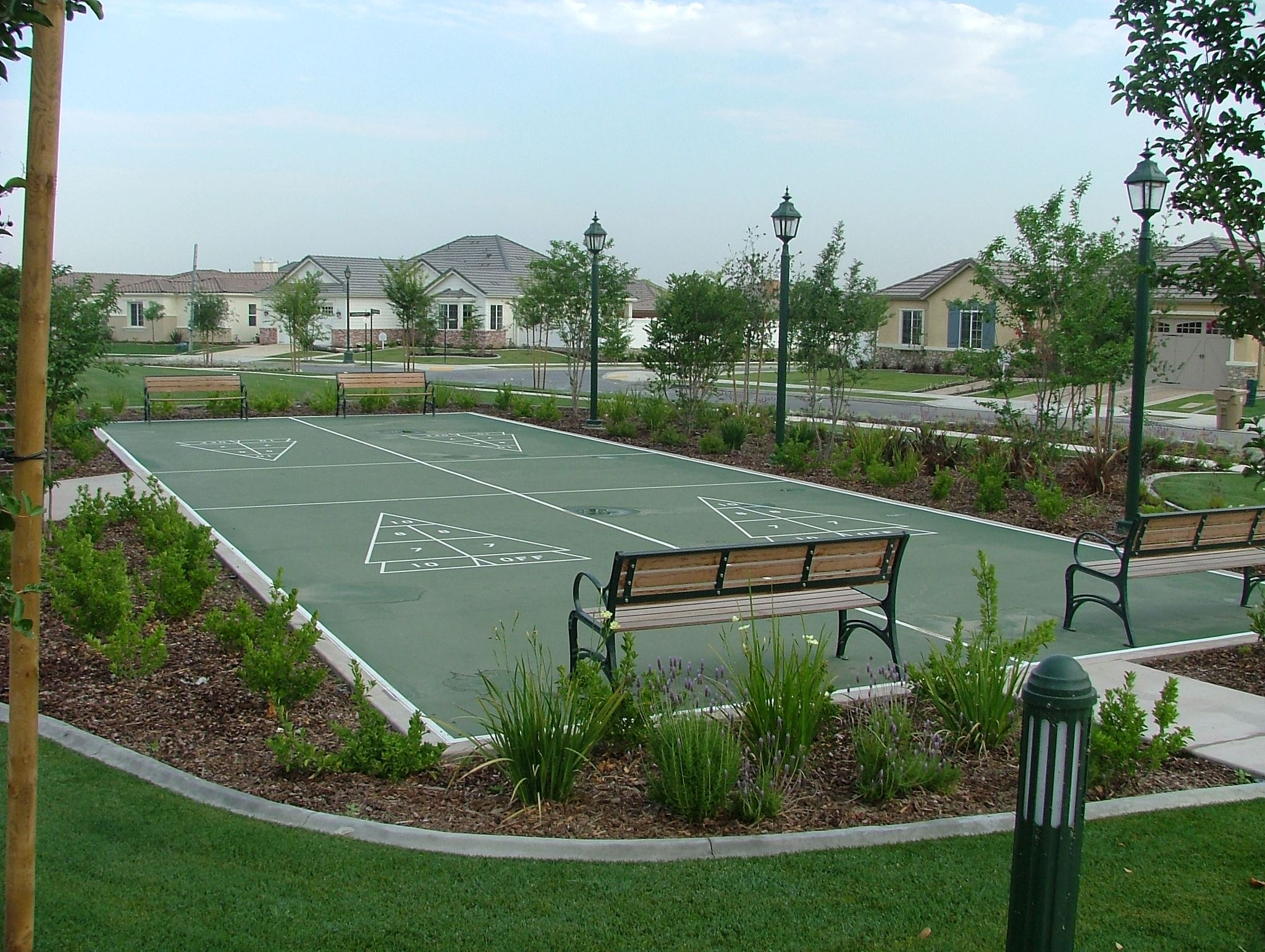 public park sport courts by Courts and Greens in Bakersfield
