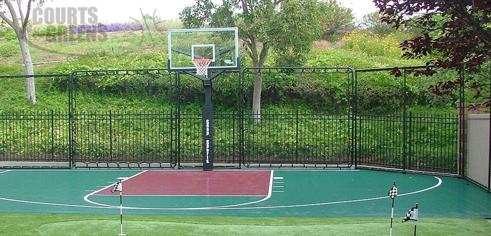 basketeball playground by Courts and Greens in Bakersfield