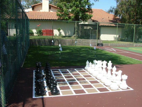 fun multi sport surfaces by Courts and greens in Bakersfield