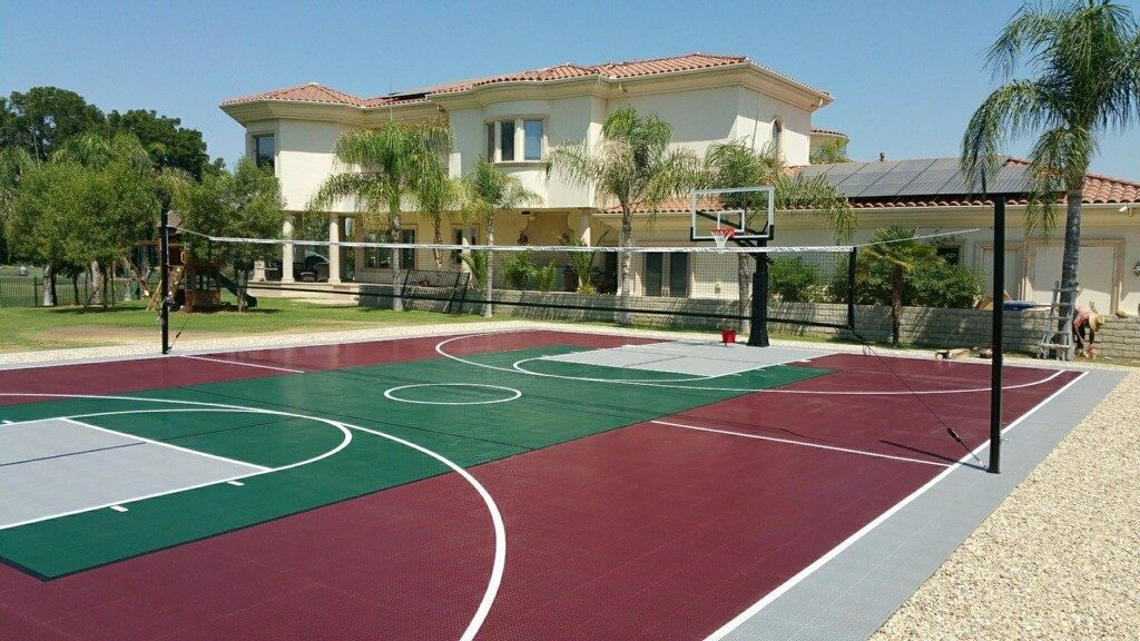 The Cost Of A Backyard Sports Court A Breakdown