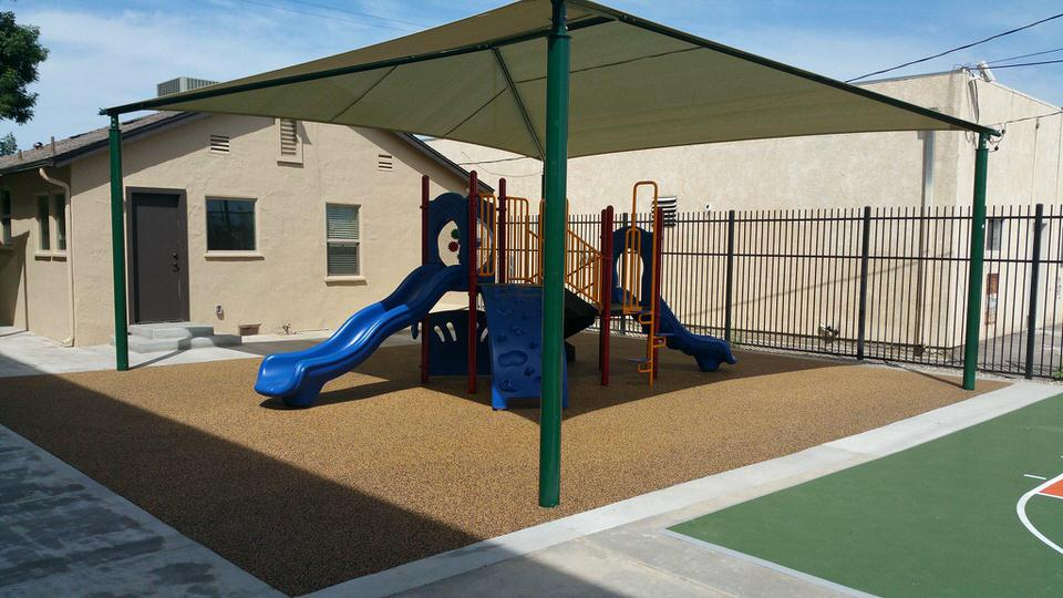 professional playground by Courts and Greens in Bakersfield