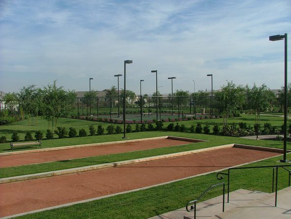 bocce ball courts by Courts and greens in Bakersfield