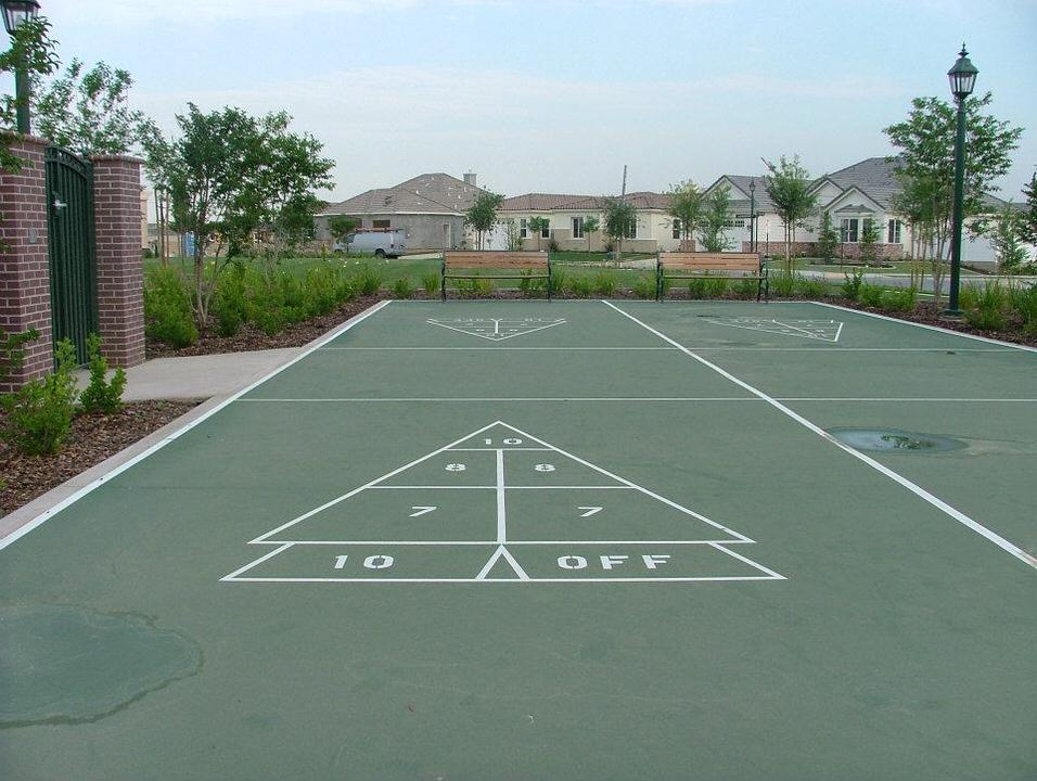 custom multi sporting courtss by Courts and greens in Bakersfield